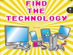 Find the Technology - Computer Vocabulary | ABCya!