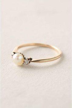 Simple - Pearl - Diamond♢Gold