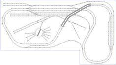 Model Train Layouts & Track Plans in HO scale - Various projects, designed with SCARM layout software