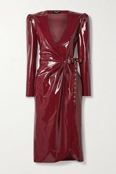 Latex Wear, Latex Dress, Fashion 2020, Runway Fashion, High Fashion, Luxury Fashion, Saint Laurent Dress, Cashmere Sweater Dress, Vinyl Dress