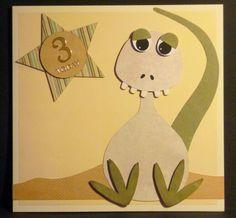 Dinosaur / monster themed card