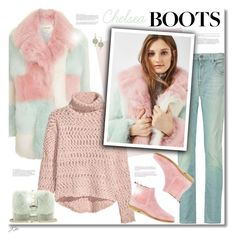 """Chelsea Boots"" by jgee67 ❤ liked on Polyvore featuring 7 For All Mankind, Valentino, Armenta, polyvoreblogger, polyvoreeditorial and chelseaboots"