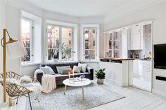 Un appartement à la déco éthérée | PLANETE DECO a homes world | Bloglovin'