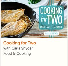 Learn how to cook the perfect portions for two with expert guidance from chef and cookbook author Carla Snyder. Watch as often as you like, whenever and wherever you like. Class comes with lifetime access and a money-back guarantee. Thai Cooking, Cooking For Two, Online Cooking Classes, Crockpot Recipes, Healthy Recipes, Perfect Portions, Cake Decorating Classes, Easy Weeknight Dinners, Learn To Cook