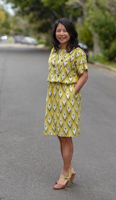 New Pattern: Melrose Top & Dress – Itch To Stitch – Dress Summer Dress Patterns, Dress Sewing Patterns, Easy Dress Pattern, Fabric Sewing, Skirt Patterns, Coat Patterns, Quilting Fabric, Blouse Patterns, Clothing Patterns
