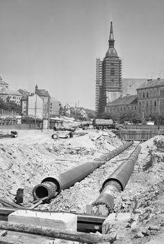 Test tankom, hviezdy, baranice a tony ocele a betónu: ako stavali bratislavské mosty (fotogaléria) – Denník N Bratislava, Old Photos, Old Pictures, Vintage Photos