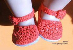 Вязаные туфельки для Baby Born. Обсуждение на LiveInternet - Российский Сервис Онлайн-Дневников