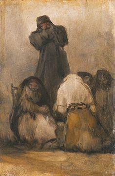 123. Frate che predica - 1820-24 - Monaco, Alte Pinakothek