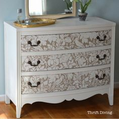When it comes to furniture, the uglier, the better! I love making over old furniture from the thrift store. Nearly all of the projects you see here have been refinished for my own house. When we moved into our old 1973 house after living in a 2-bedroom condo, we didn't have enough money to furnish …