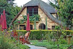 Gate House cottage in Carmel, CA.  Built in the 1940's.