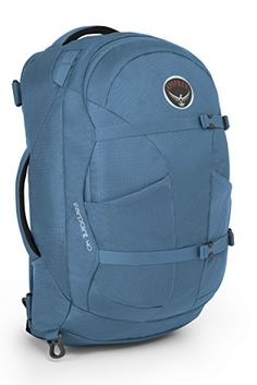 Osprey Packs Farpoint 40 Travel Backpack Caribbean Blue MediumLarge >>> You can find out more details at the link of the image.