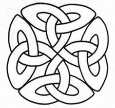 celtic or Irish love knots