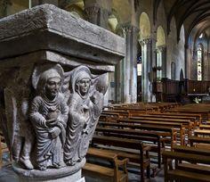 """Resurrection capital, [Abbaye Saint-Pierre et Saint-Caprais, Mozac (Puy-de-Dôme) Photo by PJ McKey"""""""
