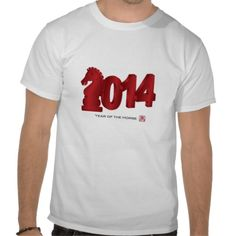 2014 Chinese Lunar New Year of Horse T-Shirt
