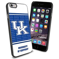 NCAA University of Kentucky Logo Cool iPhone 6 Case Cover Black Rubber Silicone Protector Iphone 6 Case Cover, Cool Iphone 6 Cases, Cool Cases, Best Iphone, Iphone Phone Cases, 5s Cases, Samsung Cases, Iphone 7, University Of Michigan Logo