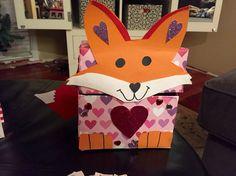 Fox Valentine Box