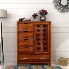 Not just an extra #storage unit, this Gress Chest of Drawers intensifies luxury and beauty of your #bedroom.