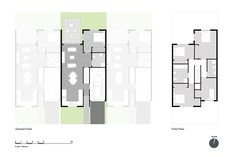 Best Singapore Layout Design on Askon Medesain: Find hundreds of architecture design, Decorating design and completed projects of interior designers in Home Layout Design, Hd Design, Simple House Design, Facade Design, Architecture Design, Urban Setting, House Layouts, Townhouse, Terrace