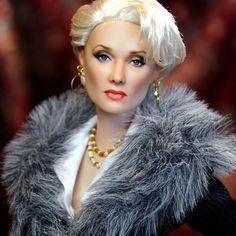 Realistas celebridades Dolls por Noel Cruz