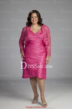 5a6dd463cbc LOVE-Plus Size Column Mother of the Bride Dress with Mini Lace Jacket. Many