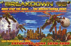 Breakdown 98 Rave Flyer