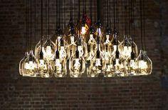 Lampe suspension / contemporaine / en verre soufflé / en verre VESSEL ...
