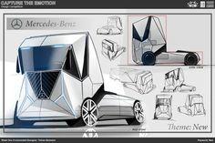 New - Mercedes Benz - By: Toblas Benedini.