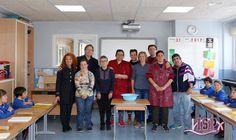 #capacitadosparaenseñarISP los integrantes del centro ocupacional IVASS con su monitora Sara Jovaní  enseñan a los alumnos de 1º Primaria👏.👏