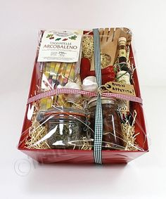 How to make a sweet shop hamper docrafts diy hampers and medium red cardboard hamper tray 39x25x10cm solutioingenieria Choice Image