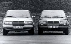 1975-1985 Mercedes W123 E Class