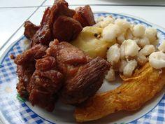 chicharron de chancho El Chicharron de Cerdo es un plato casi exclusivo de la región de los valles bolivianos, sobre todo por los ingredientes que [Leer Mas]