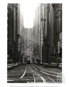 California Street, San Francisco, 1964 Art Print by Todd Walker at Art.com