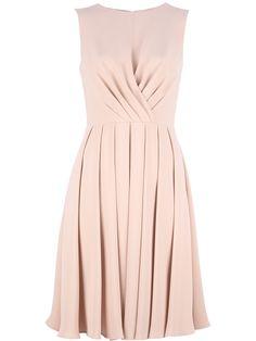 sleeveless dress valentino garavani s.s2013 farfetch s.s2013 #thinkpink