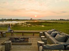 Vumbura Plains Camp, Botswana Okavango Delta by Patrick Toselli