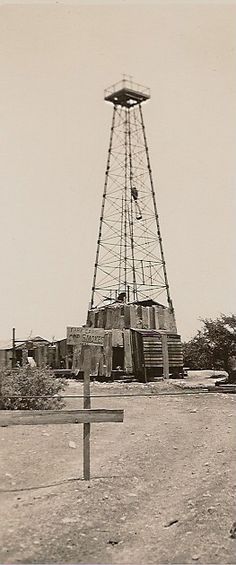 Oil well, West Texas ~ I remember how exciting it was when we got our oil well ☺️