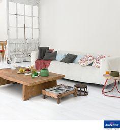 IM1859 - Witte planken LHD | Designvloeren in laminaat, parket en vinyl