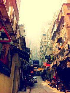 Peel Street, Hong Kong.