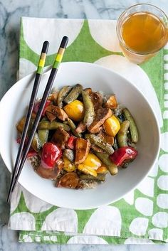 Prep and stash some stir-fry freezer meals.   18 Make-Ahead Meals And Snacks To Eat Healthy Without Even Trying