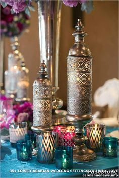 Moroccan Wedding Inspiration, By Way of Scottsdale - Wedding Cakes, Decor, Flowers, & More - Dekoration Moroccan Party, Moroccan Theme, Moroccan Style, Moroccan Wedding Theme, Oriental Wedding, Modern Moroccan, Indian Wedding Decorations, Wedding Themes, Wedding Receptions