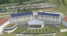 Solar heating system in the Rehabilitation Clinic Bad Frankenhausen