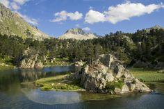 lagos de colomers en el valle de arán