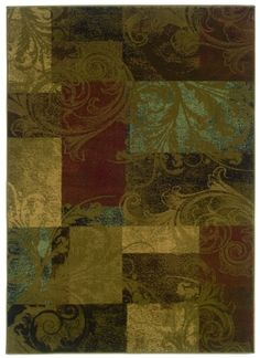 $5 Off when you share! Oriental Weavers Hudson 036G1 Multi Rug