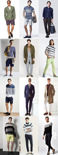 5 Trends To Master For 2015 Spring/Summer : 1) Statement Stripes Lookbook Inspiration