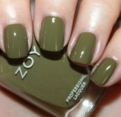"""Totally fell in love with this color, """"Dree"""" it's like an elegant olive .. I put a matte top coat over it and it looks even more amazing!"""