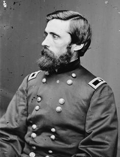 Union - General John Aaron Rawlins (February 13, 1831 – September 6, 1869) was an United States Army general during the American Civil War, a confidant of Ulysses S. Grant, and later U.S. Secretary of War.