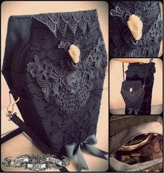 The Myopic Squid: Favourite Things Friday Victorian Vamp Coffin Purse by Madame Mari Mortem Dark Fashion, Gothic Fashion, Victorian Fashion, Gothic Accessories, Fashion Accessories, Goth Glam, Diy Purse, Cute Bags, Gothic Lolita