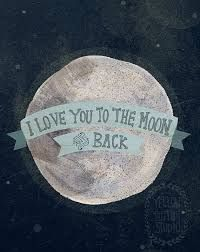 "Shop I Love You to the Moon and Back Poster Decal (Pink). Charming wall print features the phrase ""I love you to the moon and back. "" We thought it sounded better than ""We love you for over miles. "" Designed by Yellow Button Studio. You Are My Moon, Just For You, I Love You To The Moon And Back, Lyric Quotes, Me Quotes, Famous Quotes, Girly Quotes, Quotes Girls, Heart Quotes"