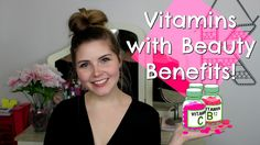 What vitamins are good for hair, skin, and nails? | Kristen Nicole #Youtuber #Youtube #BeautyBlogger #BeautyGuru