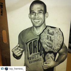 fan-made drawing of new champion Fabricio Werdum : if you love #MMA, you'll love the #UFC & #MixedMartialArts inspired fashion at CageCult: http://cagecult.com/mma