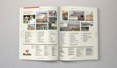 Magazine Design Inspiration - MagSpreads: Turkish Airlines: Skylife Inflight Magazine